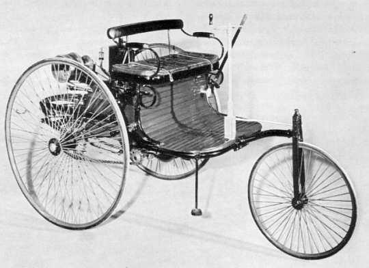 Peugeot Typ 2 - hier die dreirädrige Variante ...