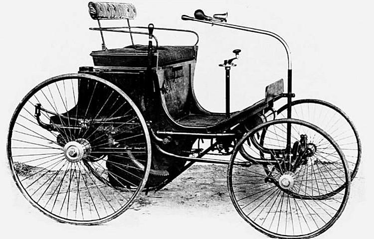 Peugeot Typ 2 - hier die vierrädrige Variante ...